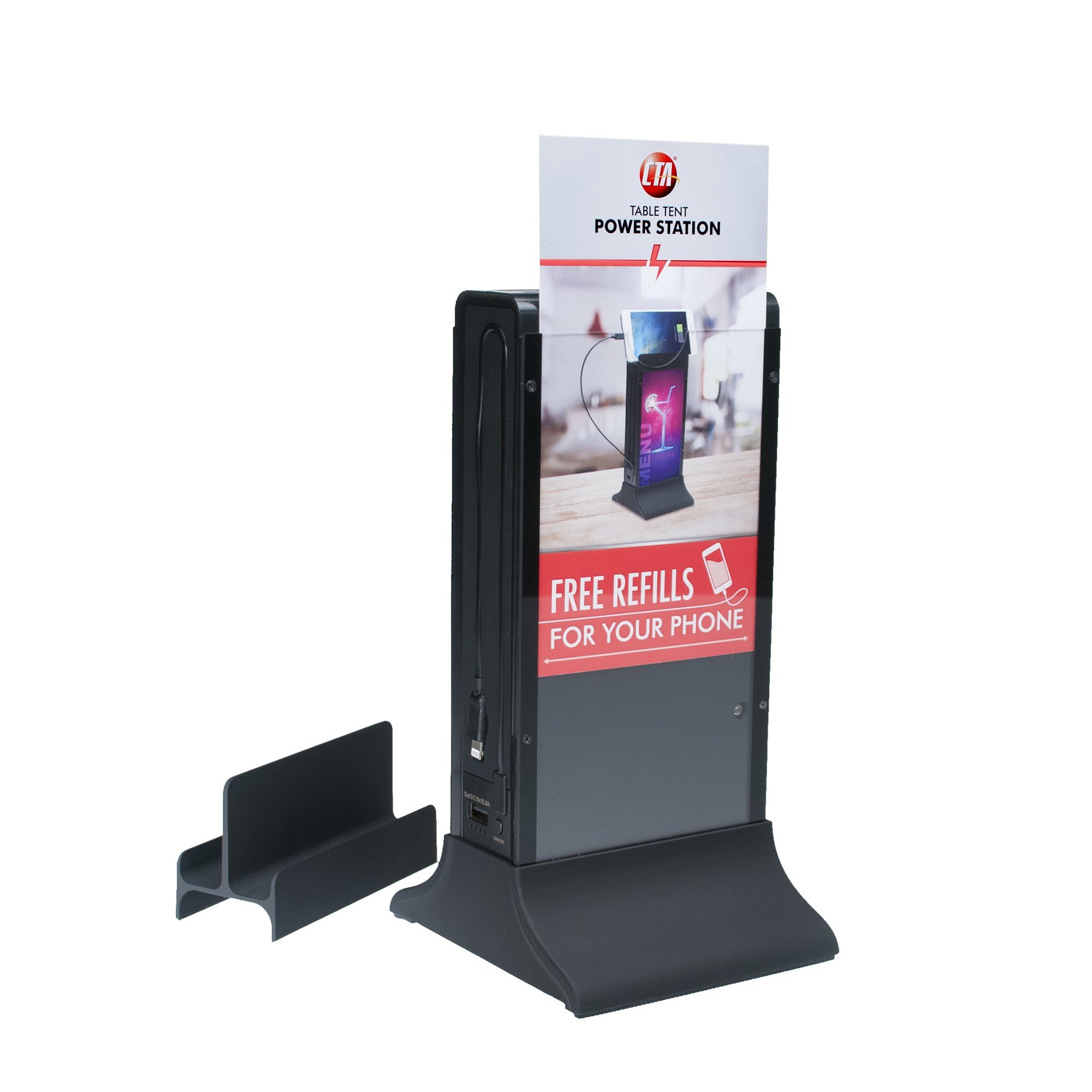 CTA Digital Table Tent Power Station 20,800 mAh for Bars/Restaurants by CTA Digital (Image #8)