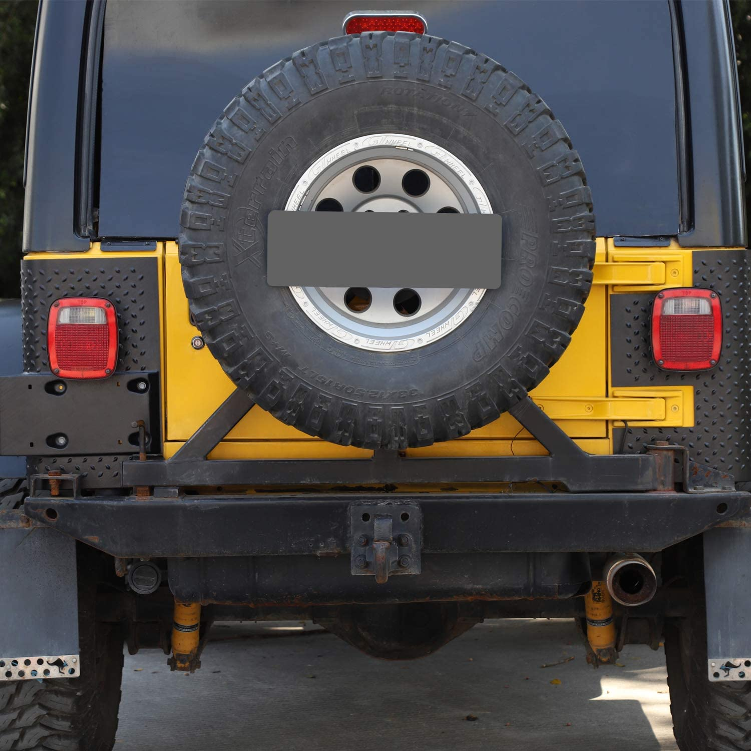 RT-TCZ Tail Light Body Armor Rear Corner Guards for Jeep Wrangler TJ 1996-2006