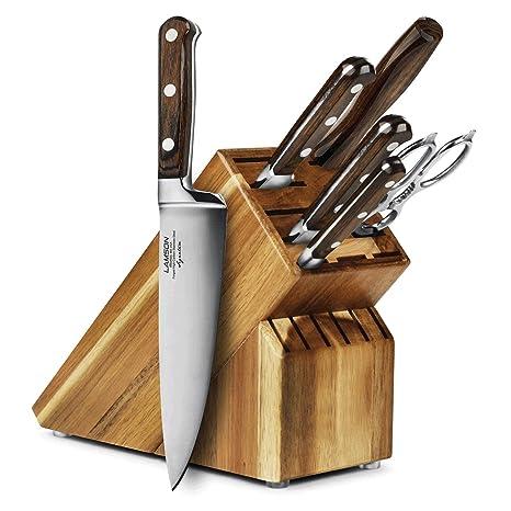 Amazon.com: Lamson Signature 7 piezas Juego de cuchillos ...