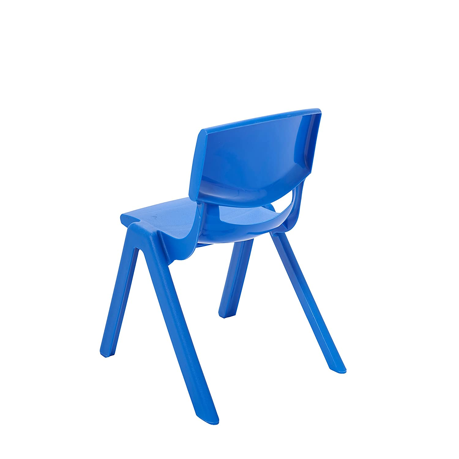 "Amazon ECR4Kids 10"" School Stack Resin Chair Assorted Colors"