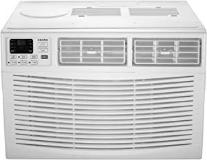 AMANA 22,000 BTU 230V Window-Mounted Air Conditioner with Remote Control, White