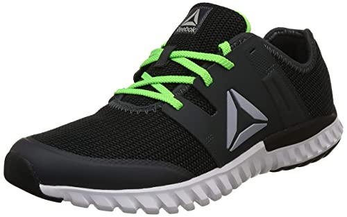 d31cc27c39d Reebok Men s Twist Run Lp Gravel Neon Green Running Shoes-10 UK India