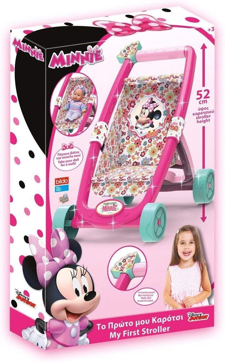 Minnie Mouse Sambro, Mi Primer Carrito (B-8446), Multicolor 1
