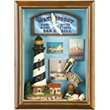 Shadow Box Coastal Lighthouse Wall Art