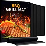 Aoocan Grill Mat - Set of 5 Heavy Duty BBQ Grill Mats Non Stick, BBQ Grill & Baking Mats - Reusable, Easy to Clean…