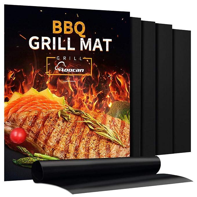 Aoocan Grill Mat – Heavy Duty BBQ Grill Mats
