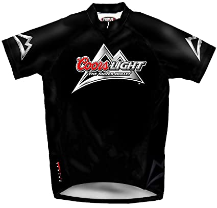 Primal Wear Coors Light Beer Cycling Jersey Men s Medium Short Sleeve The  Silver Bullet ac917956e