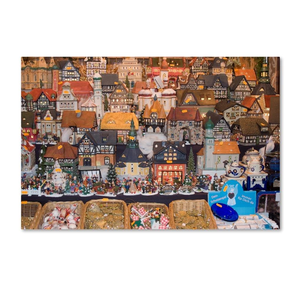 クリスマス1 byロバートハーディング画像ライブラリ、22 x 81 cmキャンバス壁アート B0762N48VB