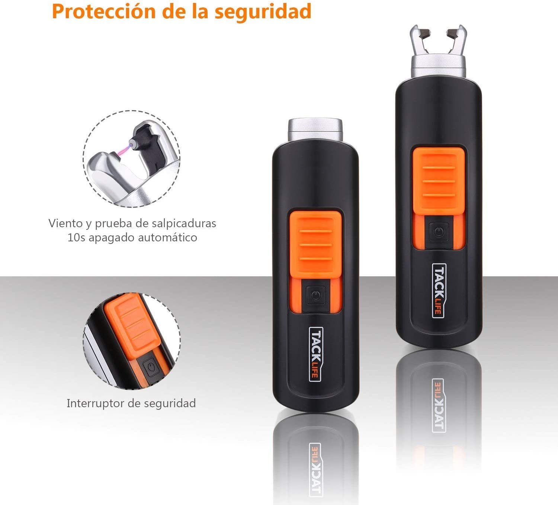 TACKLIFE Encendedor, ELY03 Mini Mechero Clásico Eléctrico, sin ...