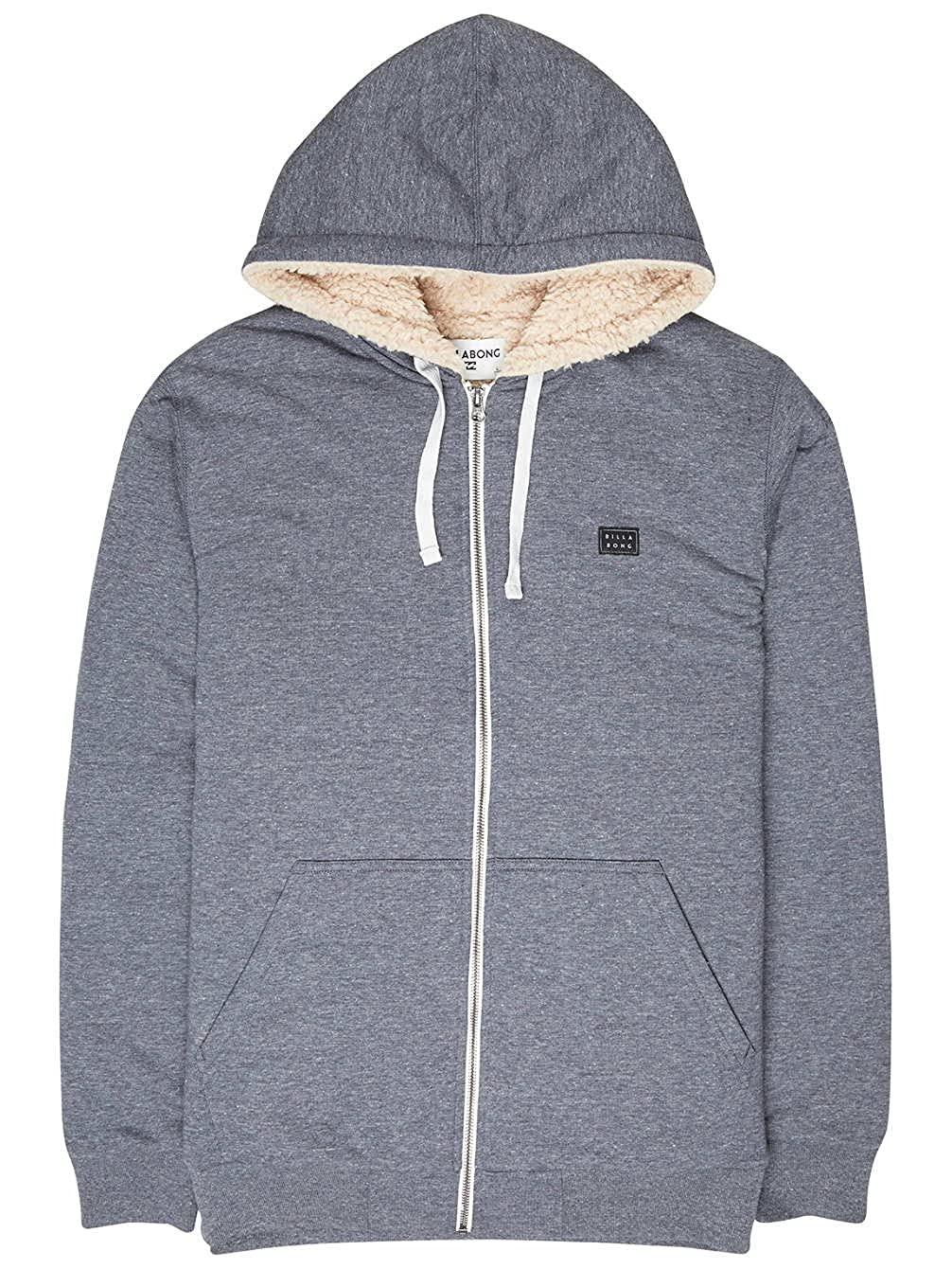 TALLA Large (Tamaño del fabricante:L). BILLABONG All Day Sherpa Zip Jersey, Hombre