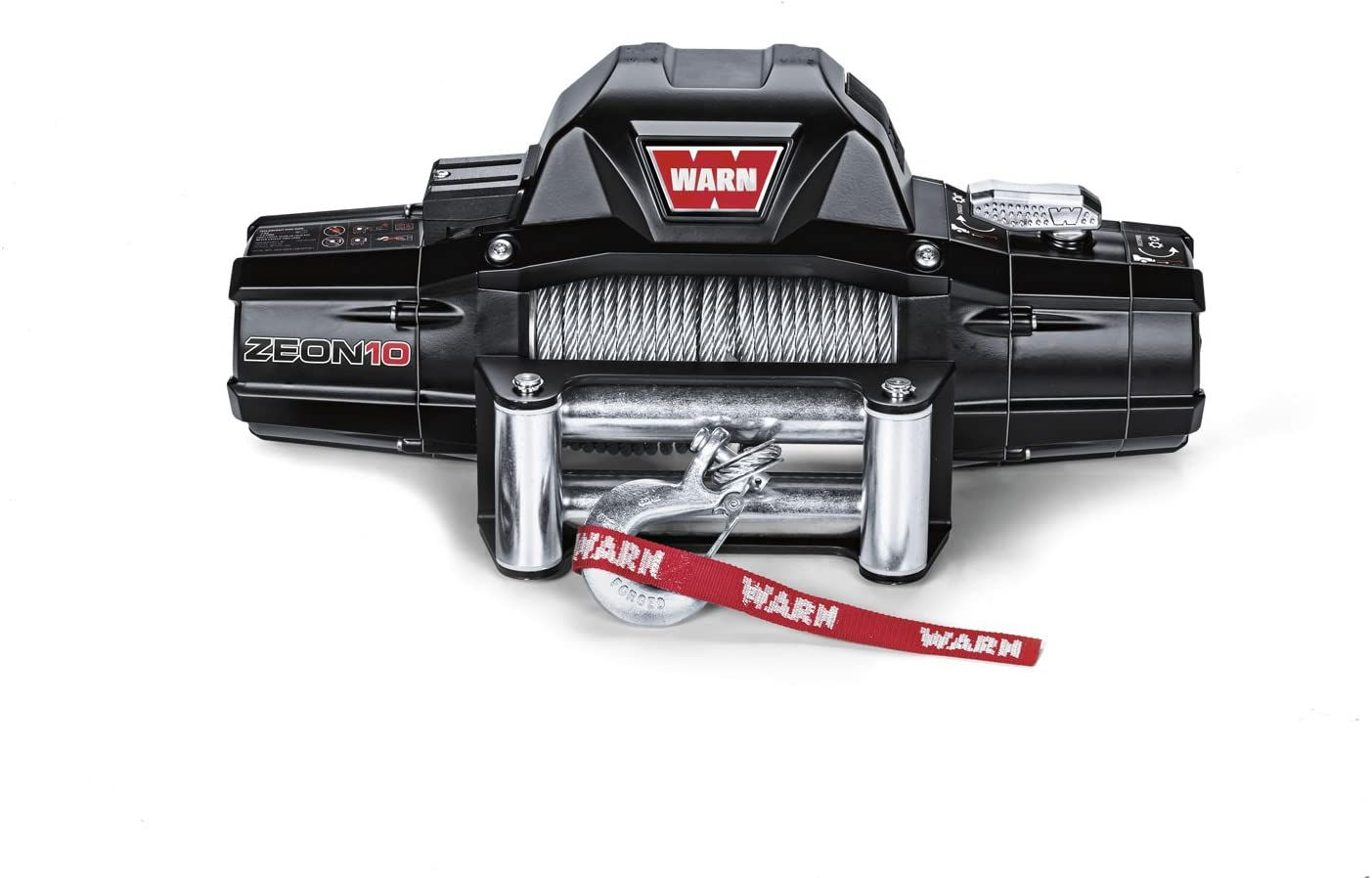 Warn 88990 Zeon 10 Electric 12v Winch With Steel Cable
