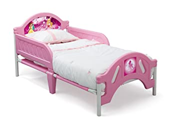Delta Children Plastic Toddler Bed Disney Princess