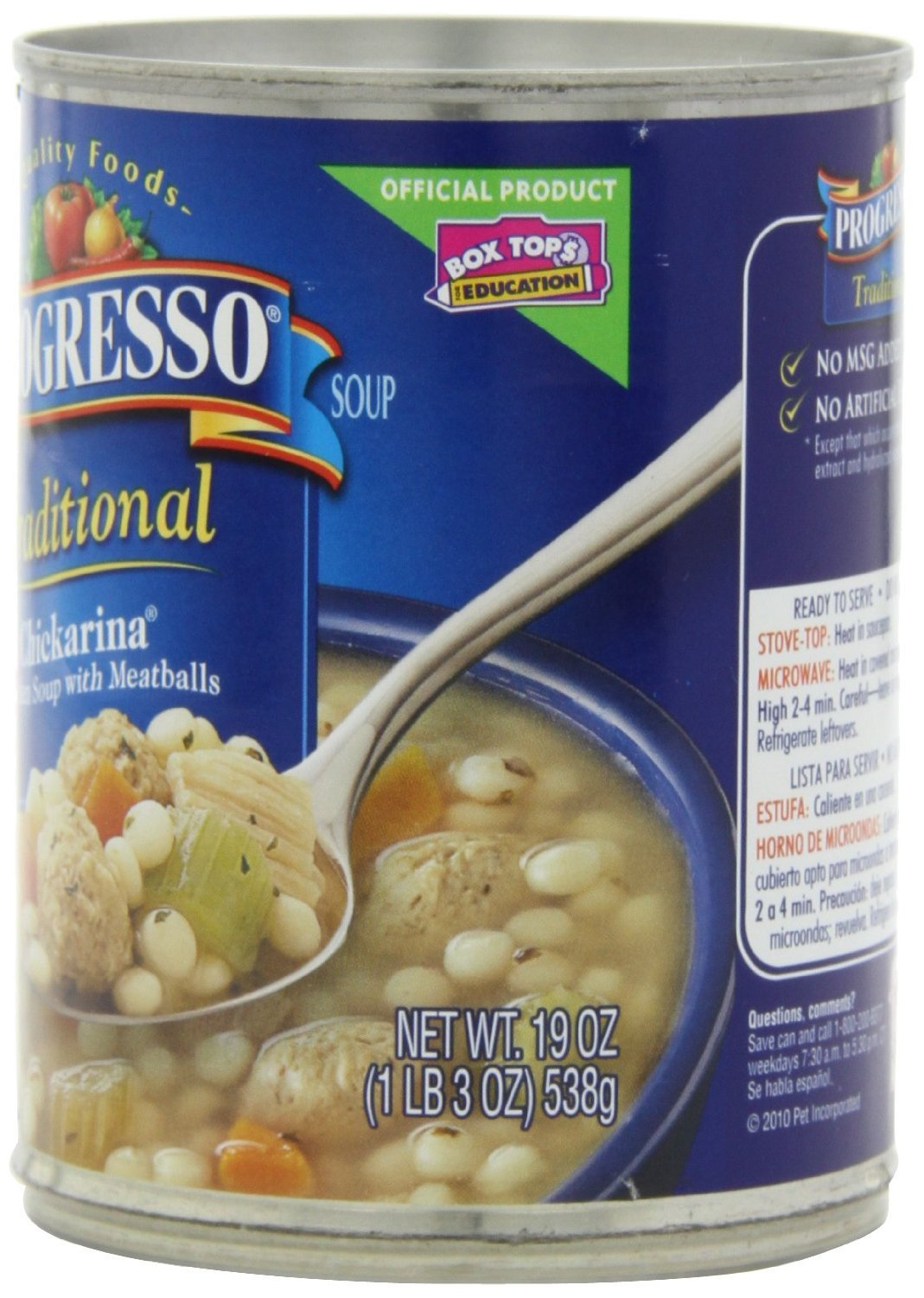 Amazon.com : Progresso Traditional Chickarina Soup 19 oz (Pack of 12)  : Grocery & Gourmet Food