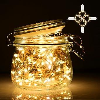 Lichterkette Led Lichterkette Mit Batterie Infinitoo 2m 20er