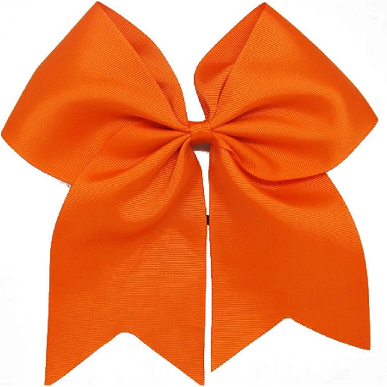 Girls Softball Hair Ties Set Orange