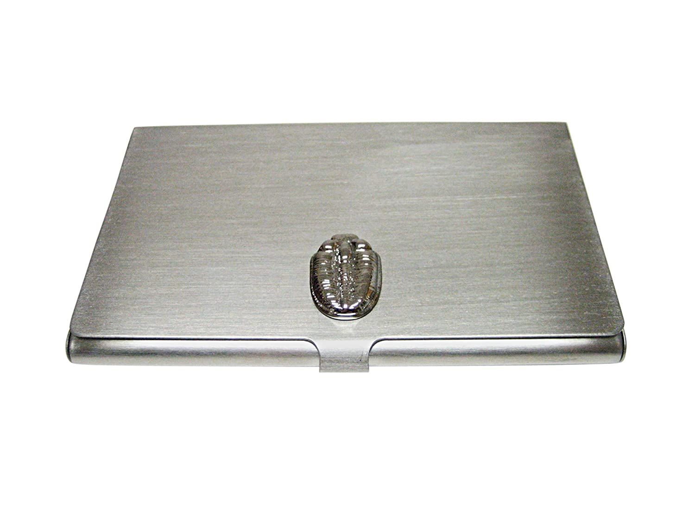 Silver Toned三葉虫デザインビジネスカードホルダー   B01FQ80DPM