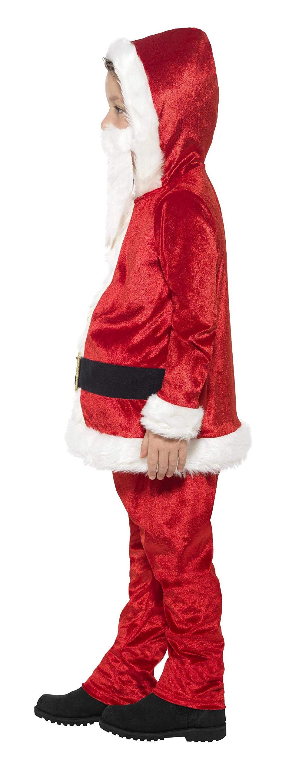 SMIFFY 36988 Weihnachtsfrau Kapuzen Santa Claus Nikolaus Kostüm Weihnachten