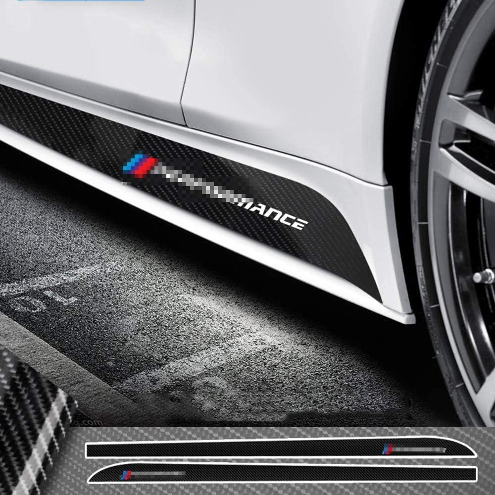 Luvcarpb Auto Seitenschweller Streifen Karosserie Aufkleber Aufkleber Passend Für Bmw E90 E92 E93 F20 F21 F30 F31 F32 F33 F34 F15 F10 F01 F11 F02 G30 Sport Freizeit