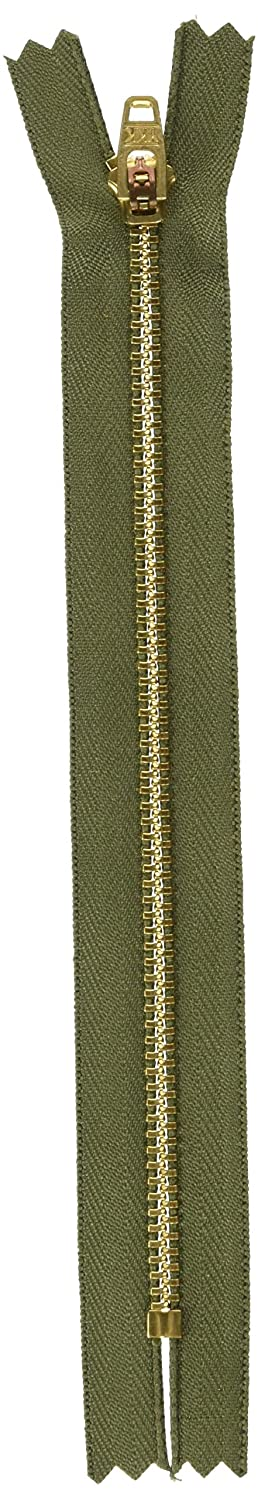 Jean Zipper 7-Army Green by YKK   B0018N6278