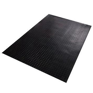Tapis de sol caoutchouc etm® dessin diamond largeur 100cm ...