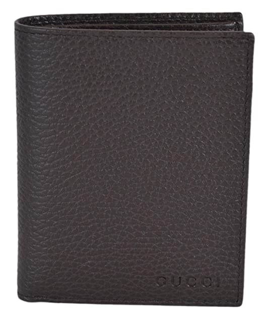 d192cd5e95cf Gucci Men's Leather Embossed Logo Vertical Bifold Wallet (Brown 292533):  Amazon.ca: Clothing & Accessories