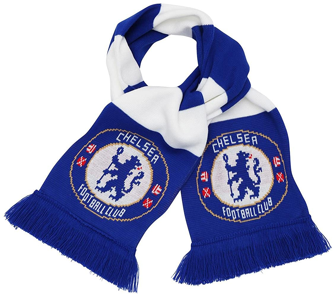 Adults Kids Official Chelsea F.C Team Scarf Football Gift FD4560P1