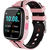 Kids Smart Watch for Boys Girls – Kids Smartwatch with Call 7 Games Music Player Camera SOS Alarm Clock Calculator 12/24…