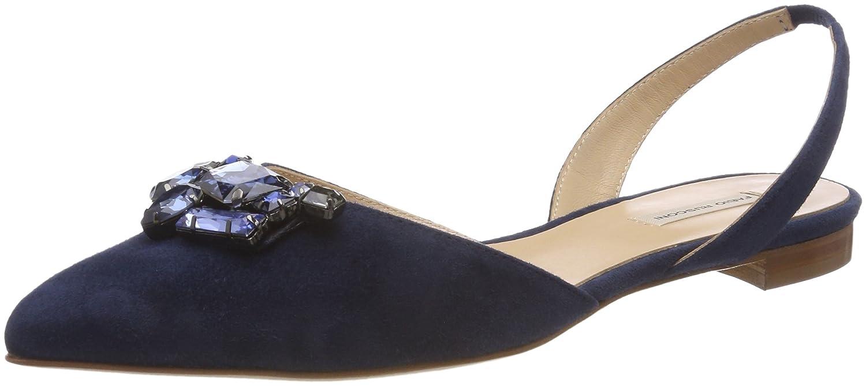 Fabio Rusconi Damen Schaftballerinas Geschlossene Ballerinas Blau (Blu)