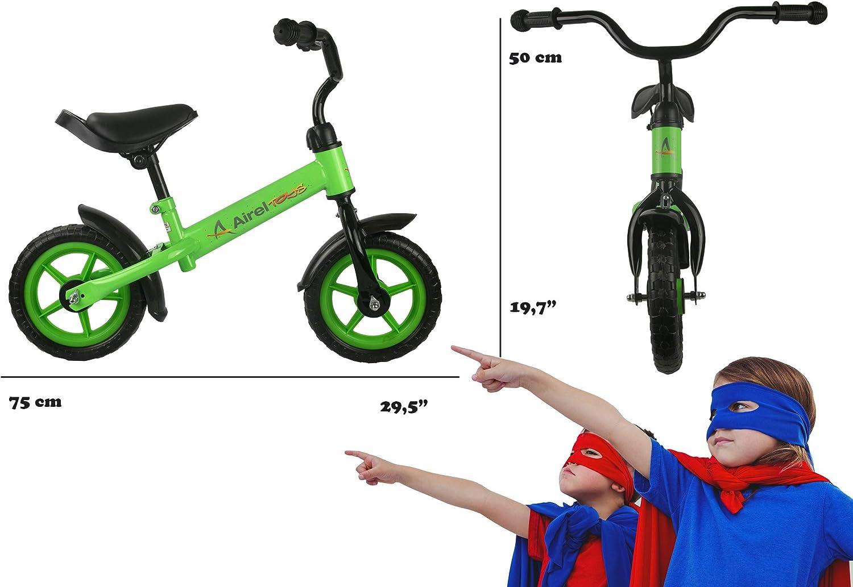 Airel Bicicleta Equilibrio para Niños |Bicicleta Sin Pedales Infantil | Bicicleta Sin Pedales | Correpasillos | De 3 a 5 años: Amazon.es: Deportes y aire libre