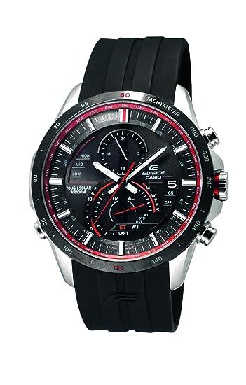 Casio Edifice - Reloj (Reloj de Pulsera, Masculino, Acero Inoxidable, Negro,