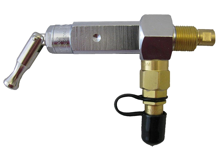 The Aftermarket Group Oxygen Cylinder Post Valve, Self-Fill For D-Tanks, TAGSFPVT-D
