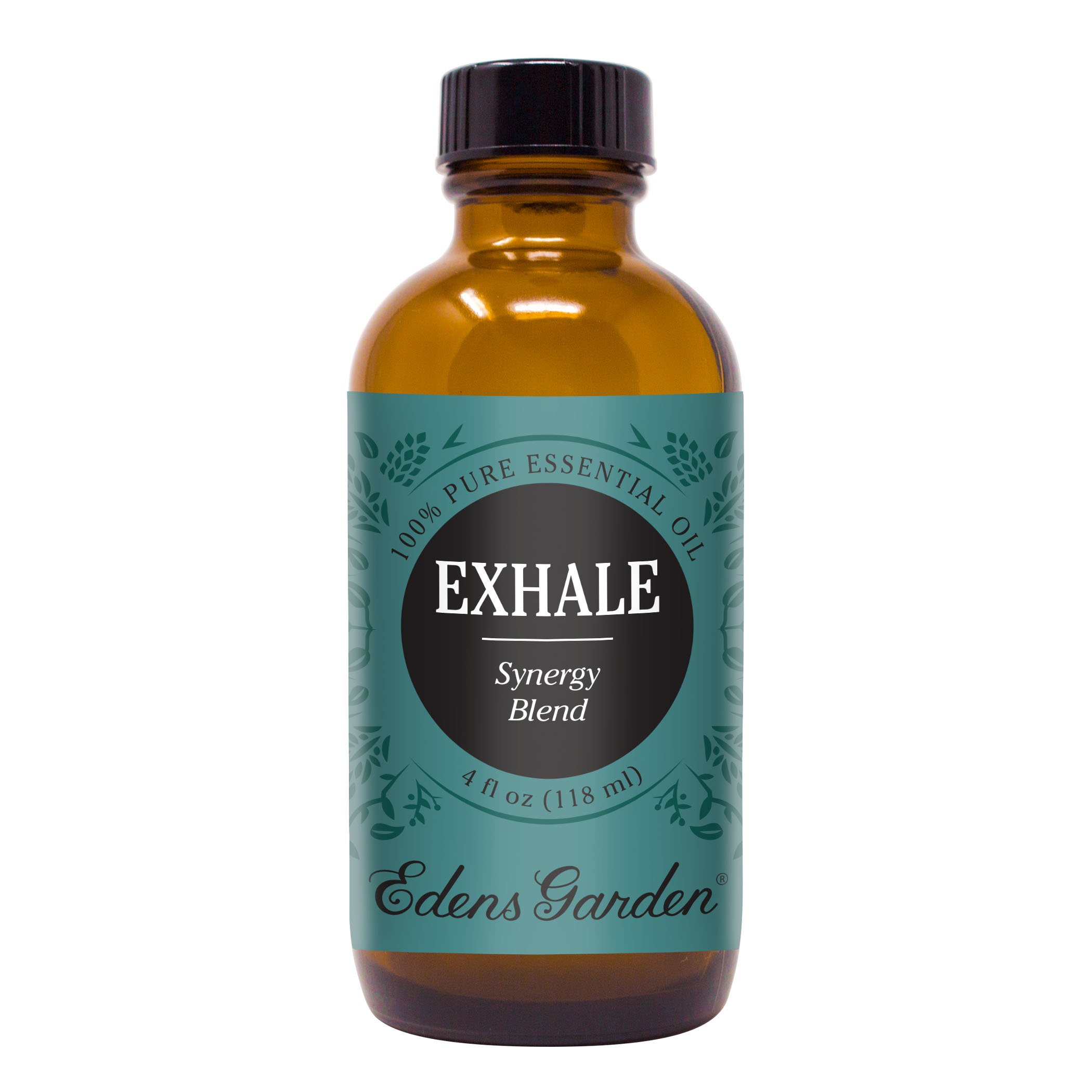 Edens Garden Exhale Essential Oil Synergy Blend, 100% Pure Therapeutic Grade (Highest Quality Aromatherapy Oils- Allergies & Congestion), 118 ml