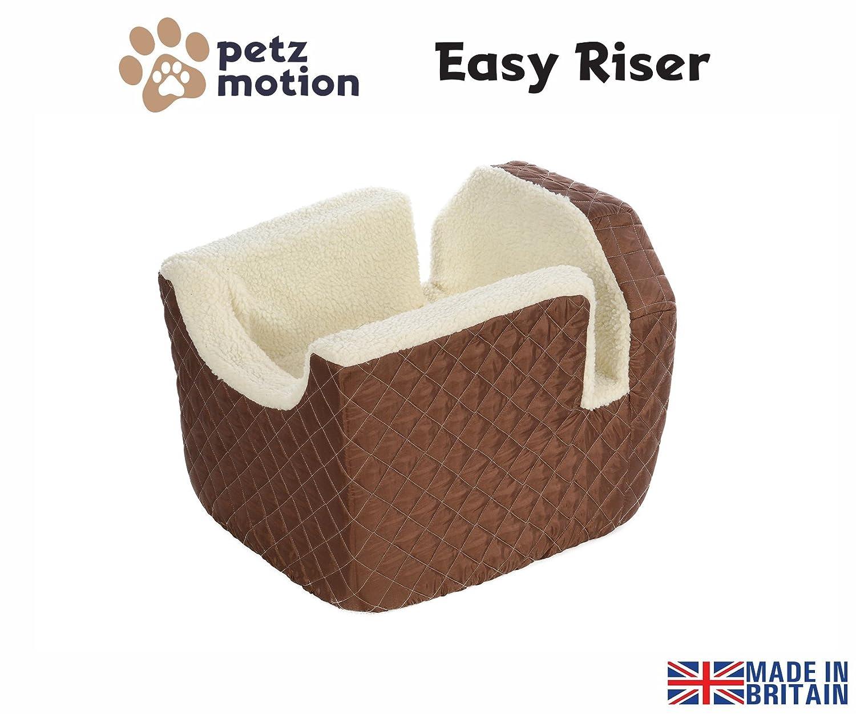 Petzmotion Easy Riser Pet//Dog Booster Safety Car Seat Medium, Black