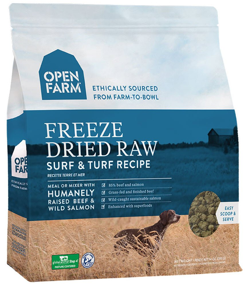 Open Farm Freeze Dried Raw Dog Food 13.5 oz (Seafood)