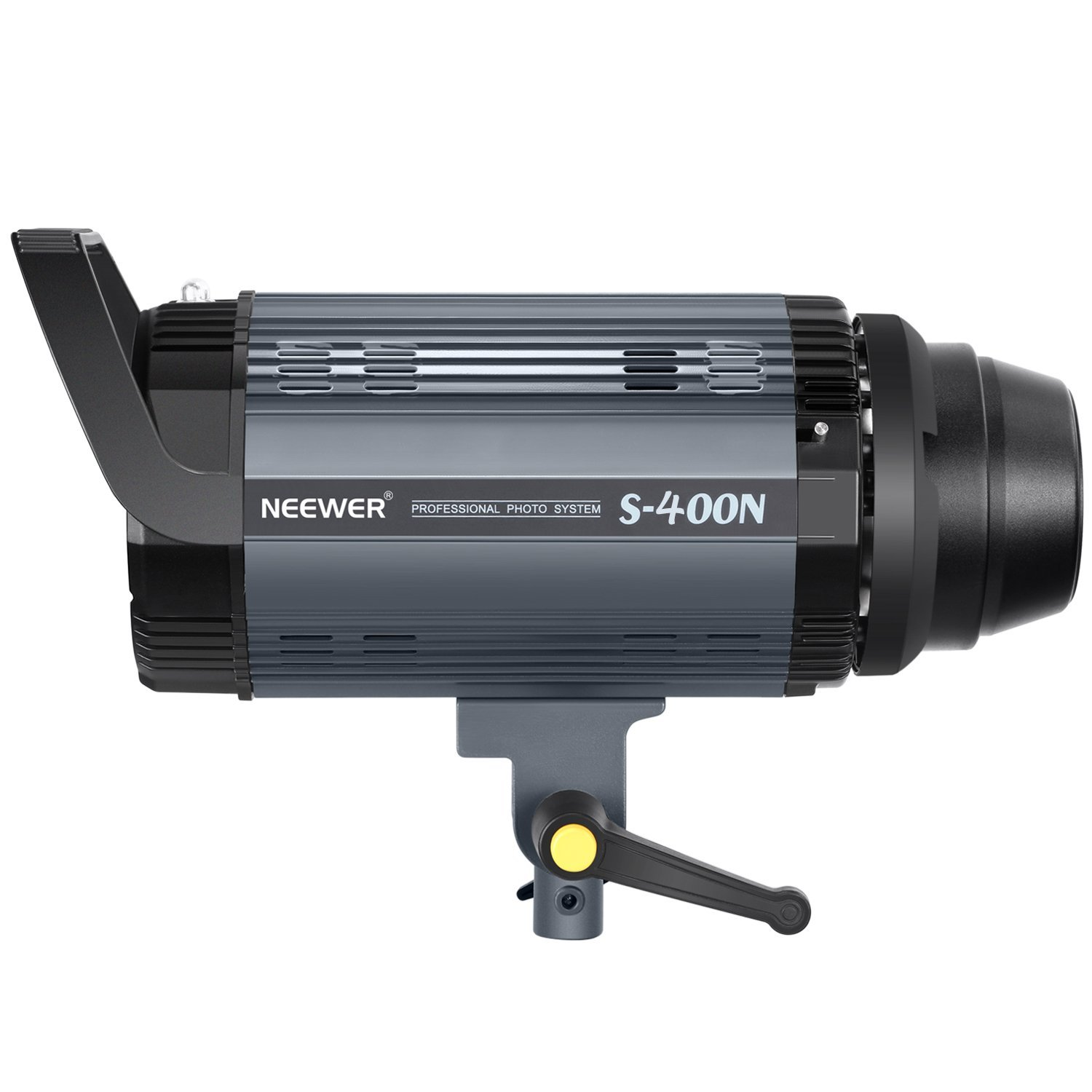 Neewer Professional Studio Flash Strobe Light Monolight - 400W GN.60 5600K with Modeling Lamp, Aluminum Alloy Construction for Indoor Studio Location Model Photography and Portrait Photography(S400N)