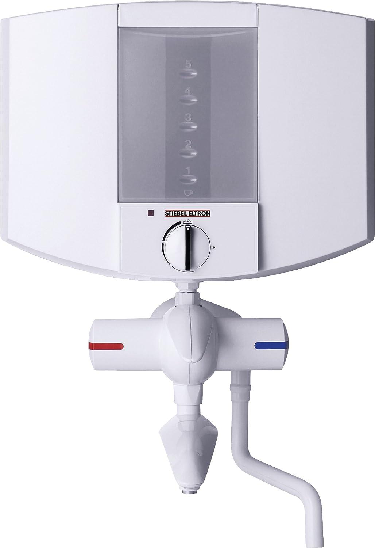 Stiebel Kochendwassergerät EBK 5 K Boiler mit Hebel-Zweigriffarmatur weiss 2 kW