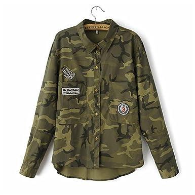 Chopstick 2018 Fashion Long Sleeve Chaqueta Militar Coat Women Green Military Jackets Slim Embroidered Women Jacket