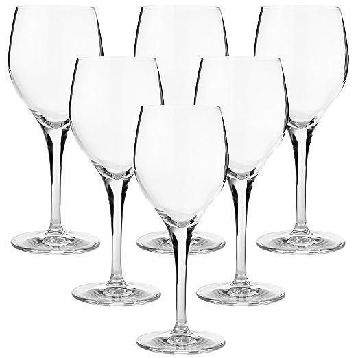 FD Markengläser - Juego de 6 Copas de Vino Tinto, Altura 18 ...