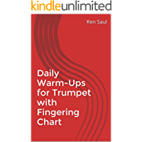 Daily Warm-Ups for Trumpet with Fingering Chart book cover