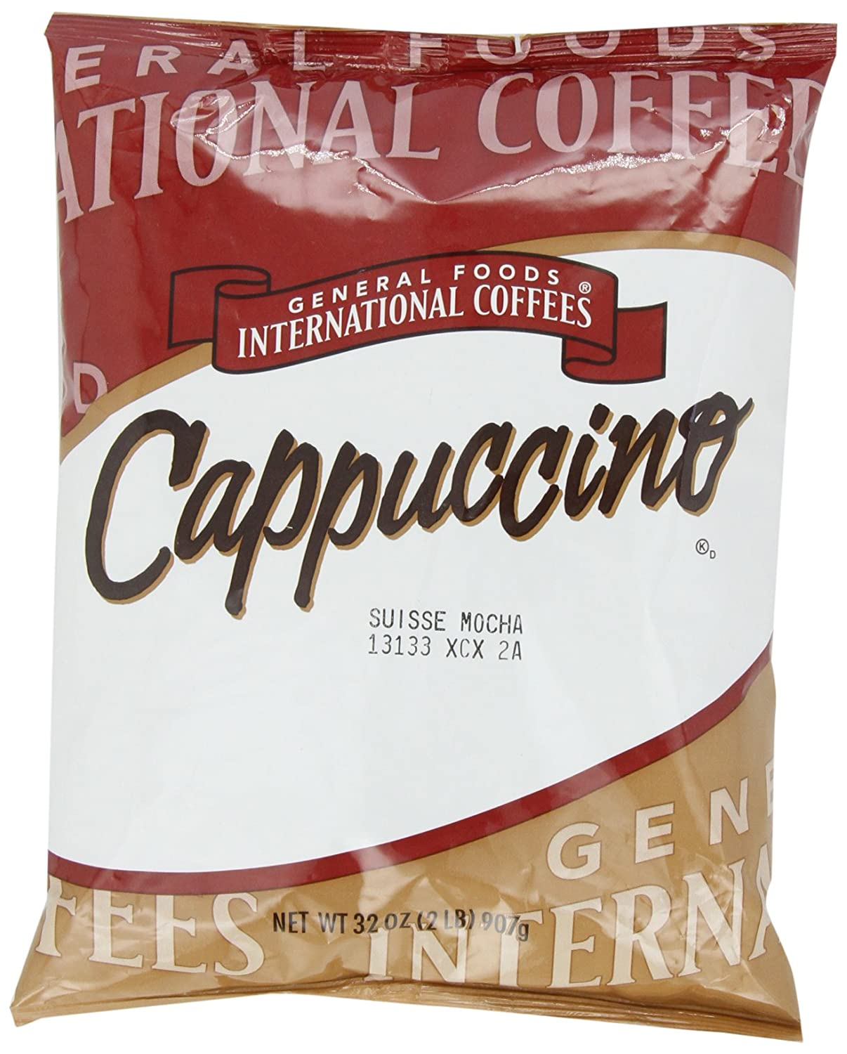 General Foods Suisse Mocha Instant Coffee Mix (2lb Bags, Pack of 6)