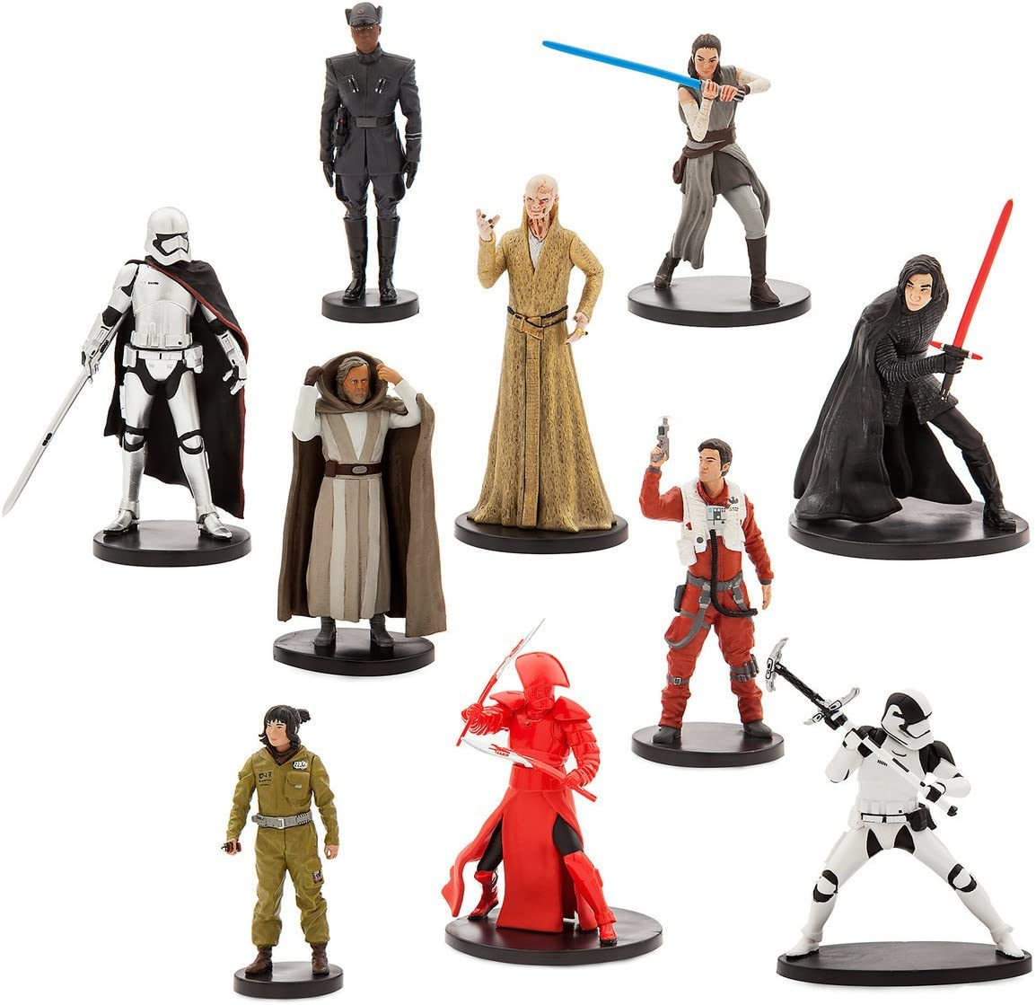 Star Wars Star Wars: The Last Jedi Deluxe Figure Play Set: Amazon.es: Juguetes y juegos