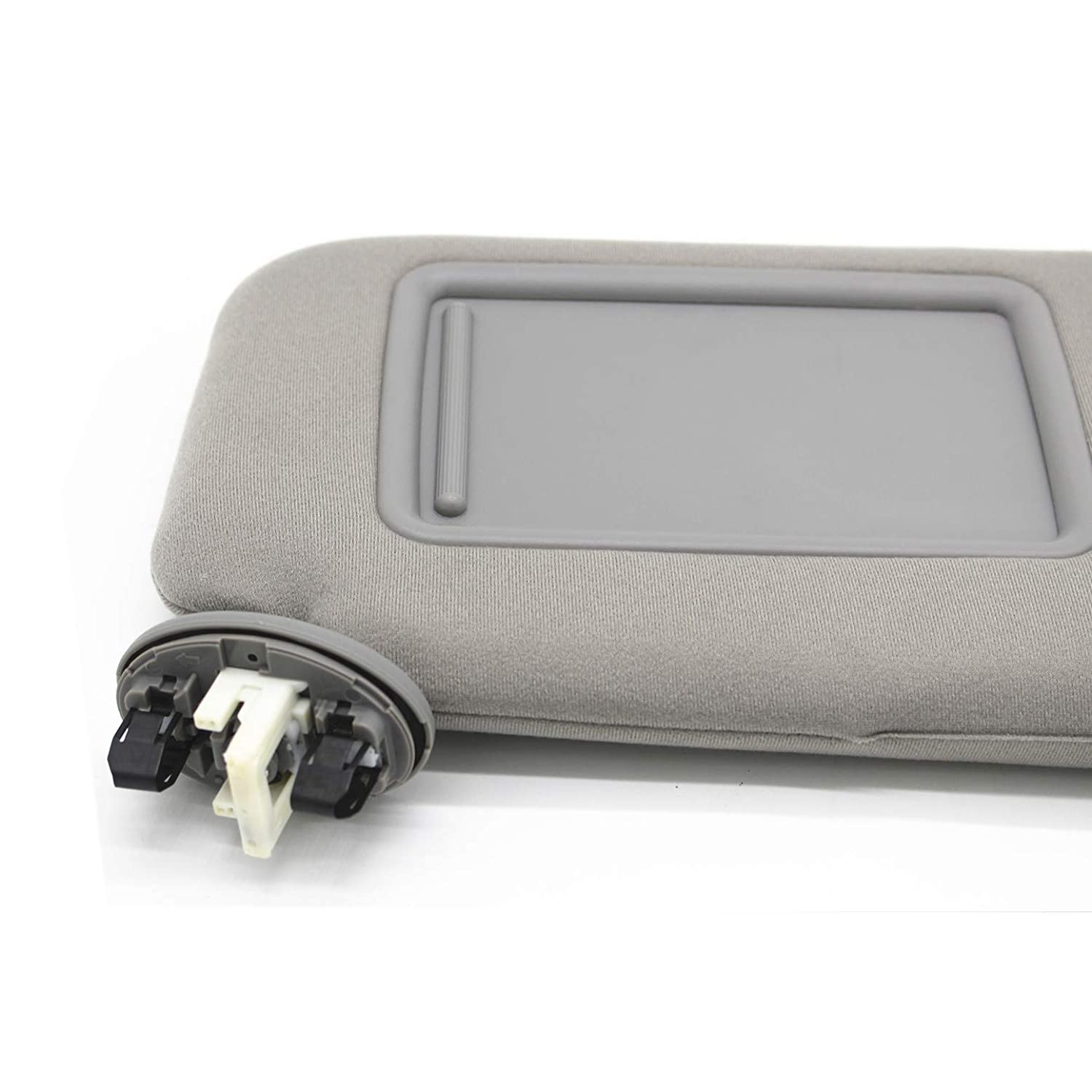 Ezzy Auto Beige Right Passenger Side Sun Visor fit for Toyota Camry with Sunroof 2007 2008 2009 2010 2011