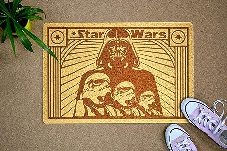 Felpudo de Star Wars, diseño de Dath Vader Stormtroopers ...