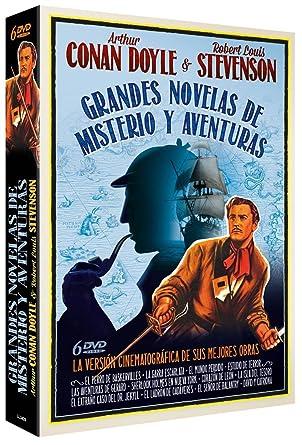 Pack Grandes Novelas de Misterio y Aventuras [DVD]: Amazon.es ...