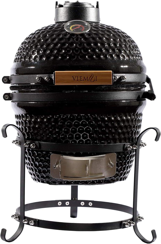 VeimoiKamadoMiniMaxGrill:A portable ceramic waterproof Kamado grill