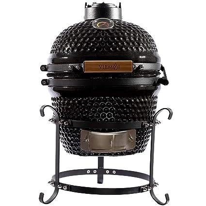 Amazon.com: Viemoi Kamado Grill - Parrilla para barbacoa ...