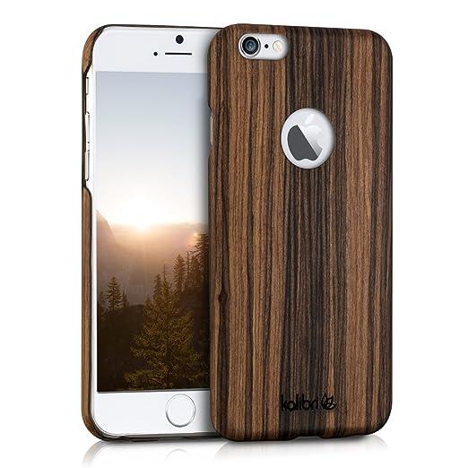 19 opinioni per kalibri custodia in legno per Apple iPhone 6 / 6S- cover protettiva per