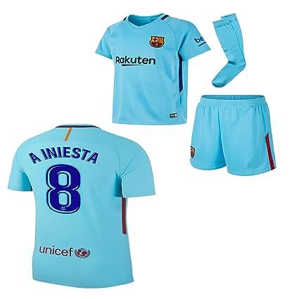 Amazon.com: BARCA2018 Barcelona NB Messi Suarez Iniesta ...