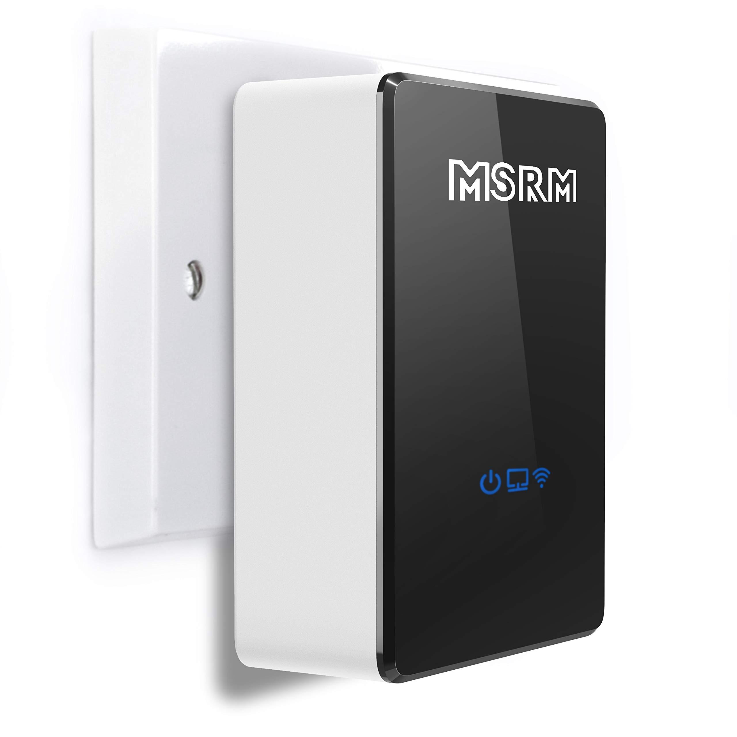 MSRM US300 300Mbps Wireless-N WiFi Range Extender, 802.11b/g/n WiFi Repeater 360 Degree Covering