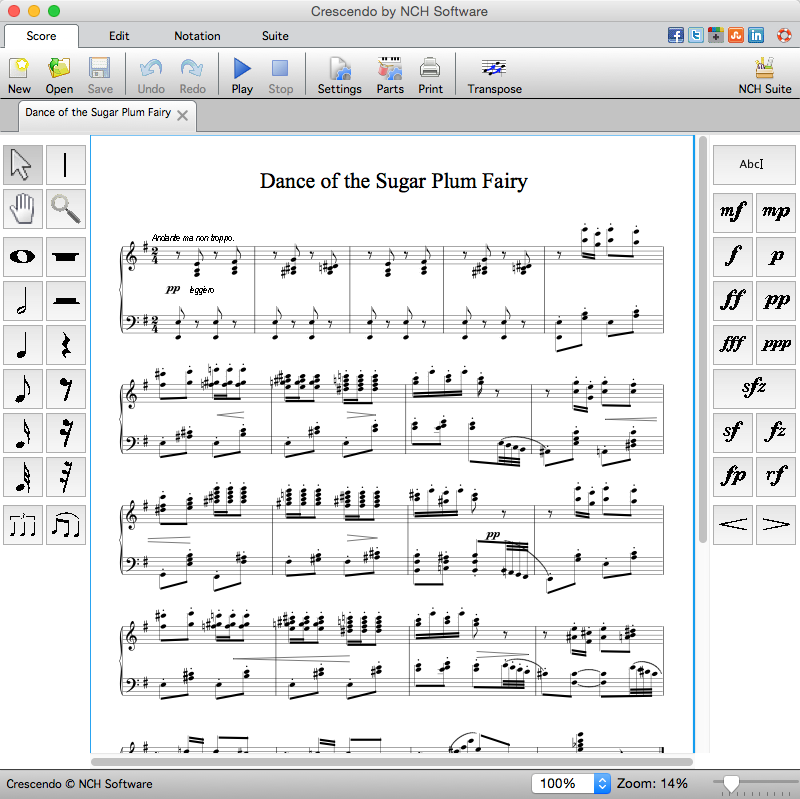 Powerful Music Notation and Composition Software